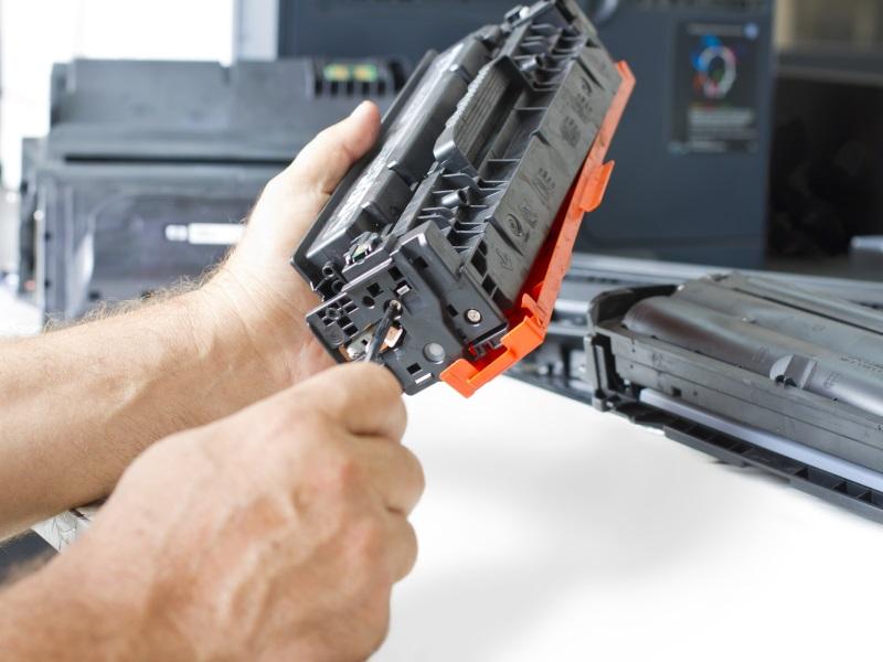 ремонт принтеров в оренбурге - замена